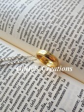 Collana L'Unico Anello Ispirato al Signore degli Anelli