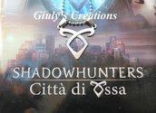 Collana Shadowhunters con il simbolo del Potere della Runa Angelica