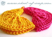 """Pattern - spiegazione per presine """"clean & simple""""  a uncinetto crochet (idea regali di Natale)"""