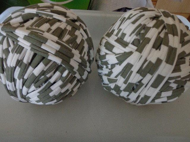 Fettuccia cotone elastico righe bianco/verde militare