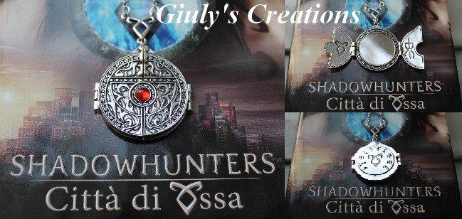 Collana con Il Portale Magico dell'Istituto dalla saga SHADOWHUNTERS