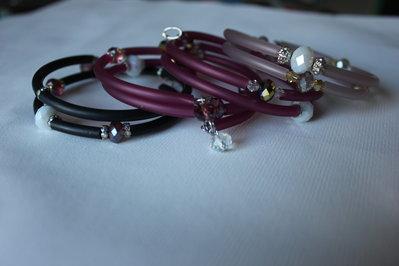 bracciali doppio-giro con filo armonico