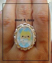 ALICE IN WONDERLAND KAWAII RING-ANELLO KAWAII ALICE IN WONDERLAND