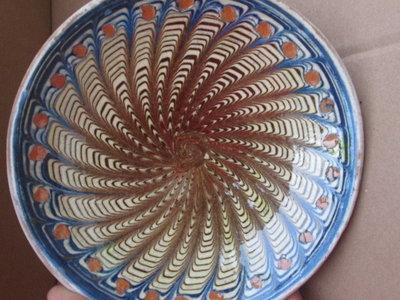 piatto ceramica Horezu