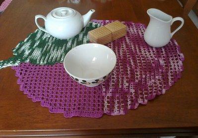 Prugna la tovaglietta da colazione