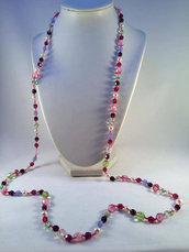 "Collana ""Pink Explosion"""