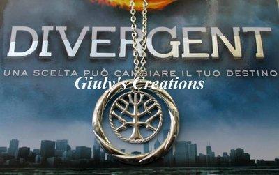 Collana con simbolo de I Pacifici dalla trilogia di DIVERGENT