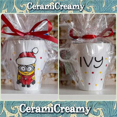 Tazza mug Minion dipinta a mano