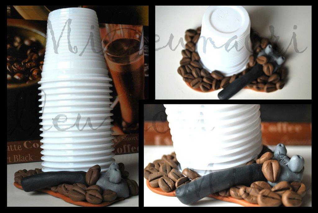Porta bicchieri da caff per la casa e per te cucina for Bicchieri caffe