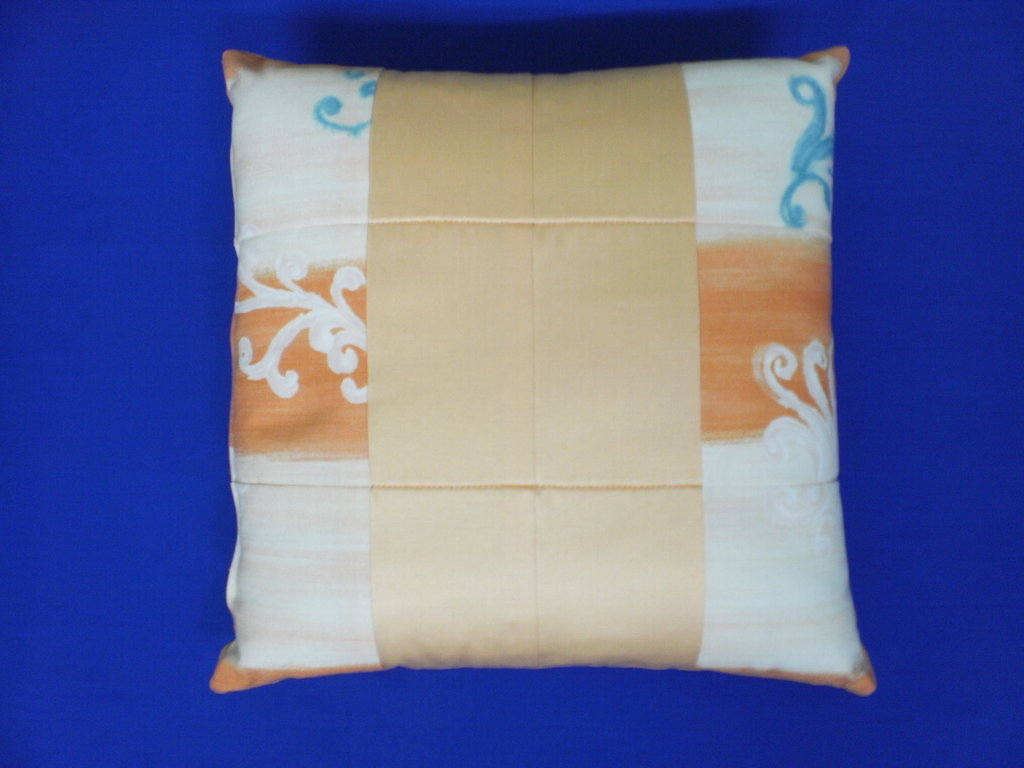 Cuscino double face patchwork