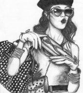 disegno di ragazza FashionStyle
