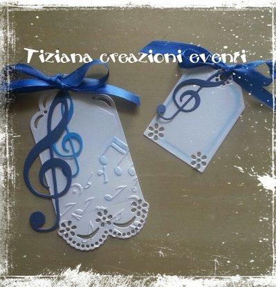 segnaposti musicali