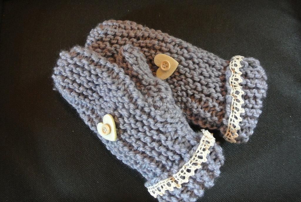 muffole di lana fatte a mano