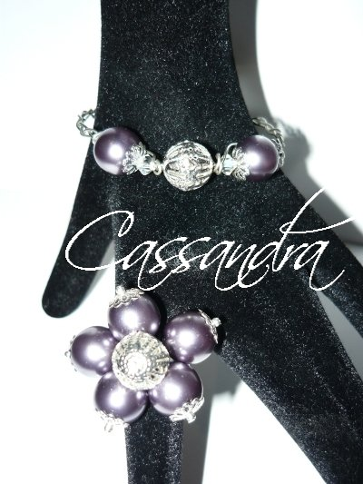 Anillo y Pulsera Mer Noire (Ring and Bracelet)