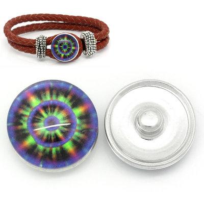 pulsante Bottone a clip cerchio multicolor Rotondo 18mm tanti sconti per oggi