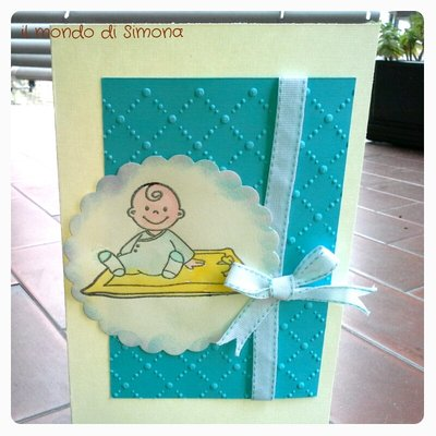 biglietto nascita bambino