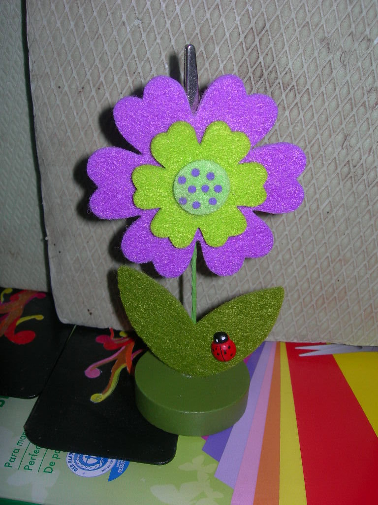 portafoto fiore