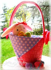 Set Pasquare - cestino,egg hunt