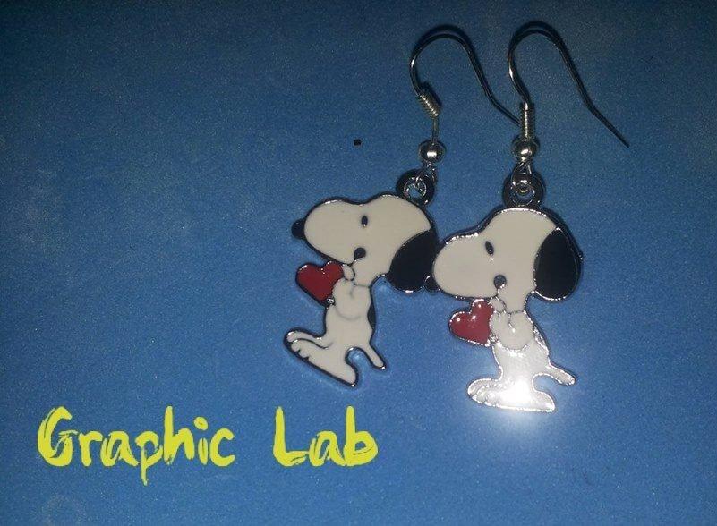 Orecchini Snoopy