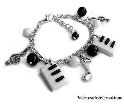 bracciale pianoforte piano nota musicale musica
