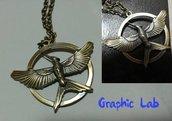 Collana Ghiandaia Imitatrice Hunger Games Il Canto della Rivolta Mockingjay
