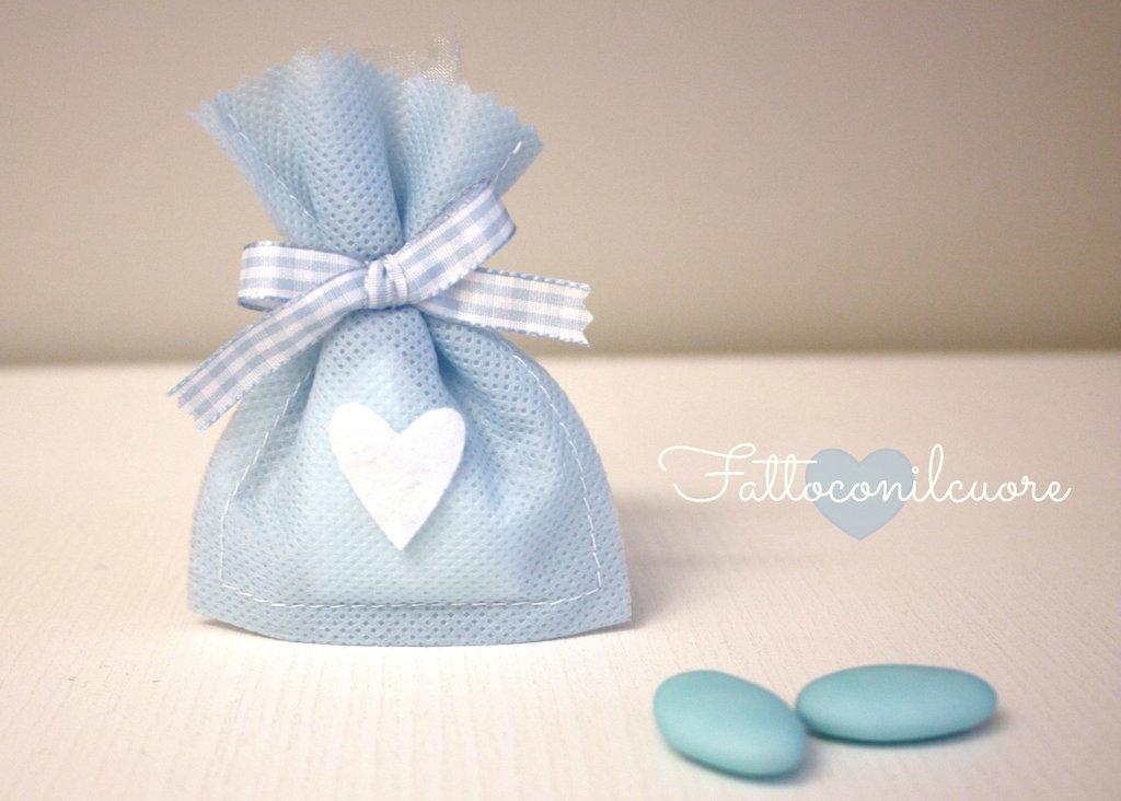 sacchetto bomboniera per il tuo evento del cuore