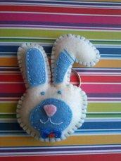 portachiavi coniglietto