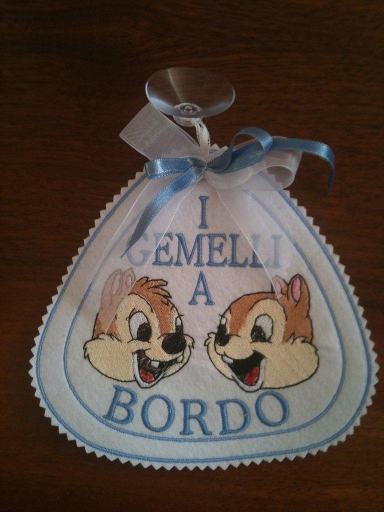 Etichetta - Bimbo a Bordo - Gemelli