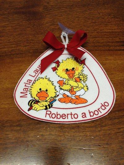 Etichetta - Bimbi a Bordo - Fratelli 2