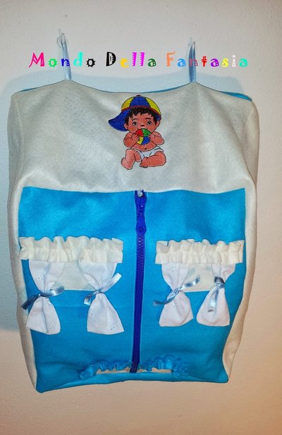 Casetta porta pannolini bambini accessori beb di - Porta pannolini ...