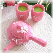Set da tè Giapponese senza il vassoio