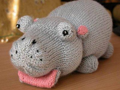ippopotamo di maglia