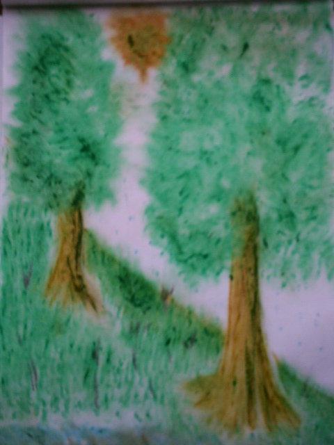 Dipinto di paesaggi