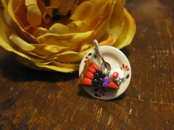 Anello Crostata Frutti di bosco