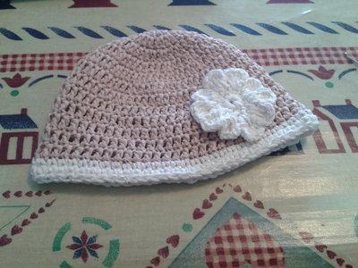 cappellino bimba uncinetto