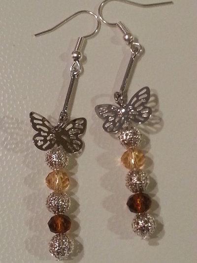 Farfalle di swarovski