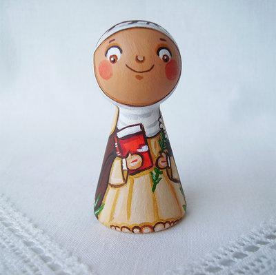 Santa Caterina da Siena figurina battesimo Italia patrono comunione