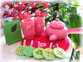Raccolta di tè verde - 5 gusti