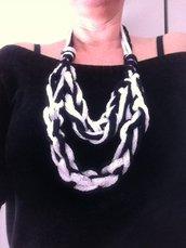 collana i fibre tessili