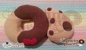 Cuscino Biscotto - Dolce Contatto con cuori (Quello originale)