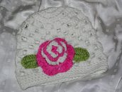 Crochet hat - Cappello,cuffia all'uncinetto