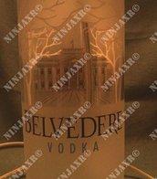 Lampada da tavolo Bottiglia Vodka Magnum Belvedere 1,75 L.