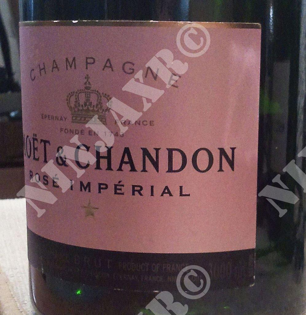 Lampada Bottiglia Champagne Moet & Chandon Rosé Jeroboam 3 L