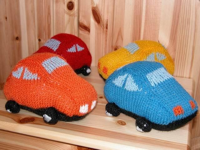macchinina di maglia
