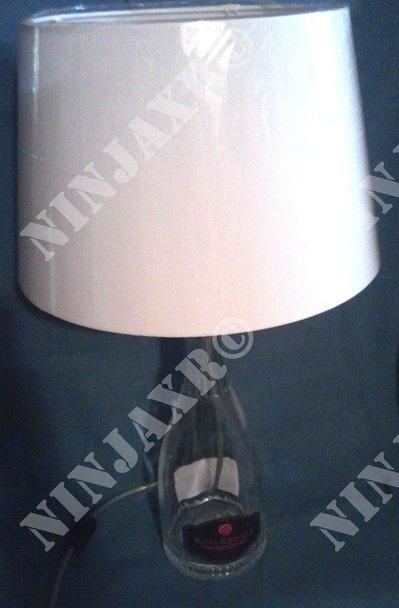 Lampada da tavolo Bottiglia Magnum Brachetto Rosa Regale Banfi