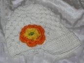 Crochet hat - Cappello,cuffia all'uncinetto