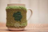 Copri tazza - mug lana per San Patrizio (St. Patrick's Day) BatuffoloHandmade