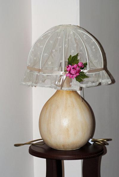 damigiana lampada da tavolo/comodino