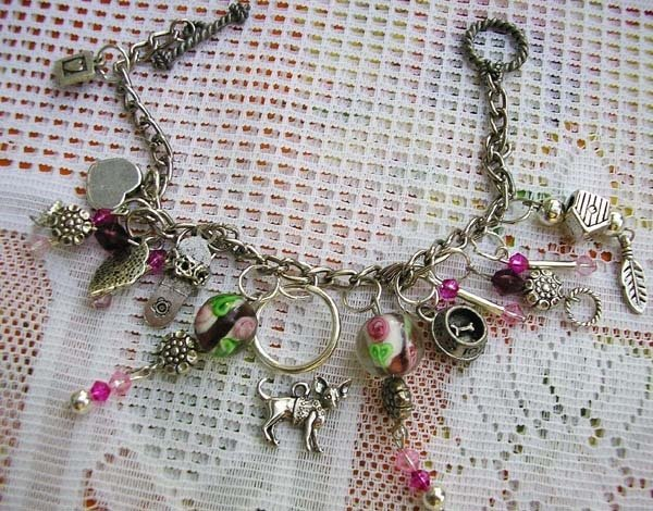 bracelet with dog breed chihuahua