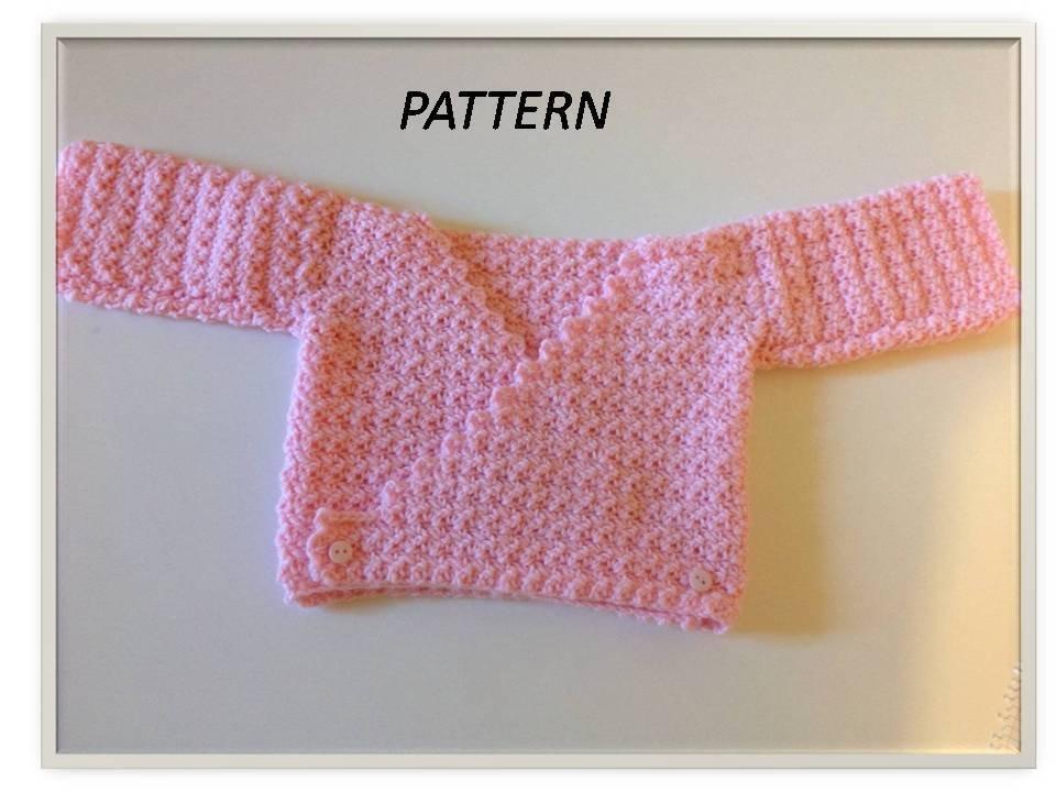Pattern coprifasce per neonato all'uncinetto